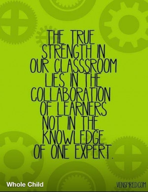 Collaboration feeds student engagement.
