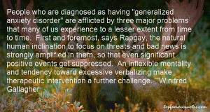 generalized anxiety disorder quotes
