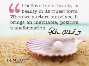 Paula Abdul Quote — Inner Beauty
