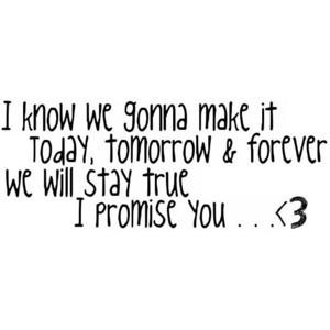 selena gomez i promise you