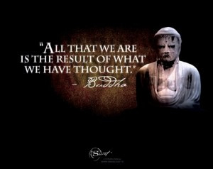 All That We Are Is The Result Of What We Have Thought - Power Quote