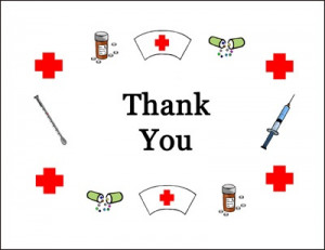 Graduation Nurse Thank You Cards...