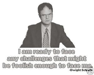 Challenges-Quote-Dwight-Schrute-The-Office-T-shirt