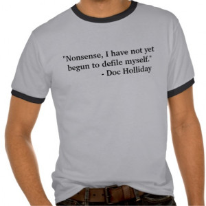 Tombstone - Doc Holliday T Shirt
