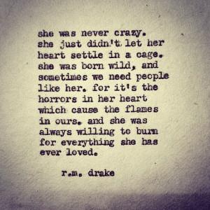 instaquote quote poem poesia citazioni truestory rmdrake women ...