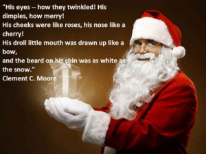 Santa Claus Quotes Christmas Quotes ~ 30+ Short Christmas Poem For ...