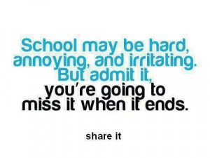 School quotes, meaningful, sayings, best, annoying