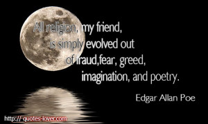 All-religion-my-friend-is-simply-evolved-out-of-fraud-fear-greed ...