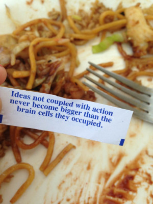 Fortune Cookie motivational inspirational love life quotes sayings ...