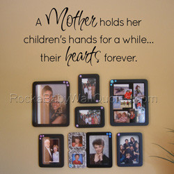 2121 a mother s hands wall quote a mother s hands wall quote makes a ...