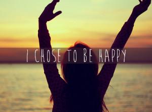 cute, error, happy, i chose to be happy, love, pretty, quote, quotes