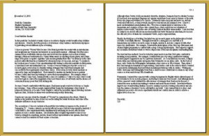 圖片標題: Letter Formatting