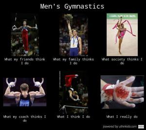 Mens Gymnastics What I Really Do