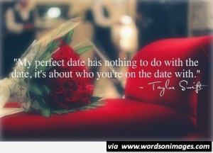 My perfect date quote taylor shift