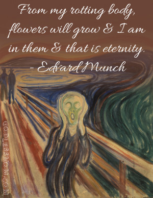 Edvard Munch: From my rotting body