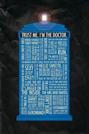 Absolutely - Yeah. Doctor Who Quotes