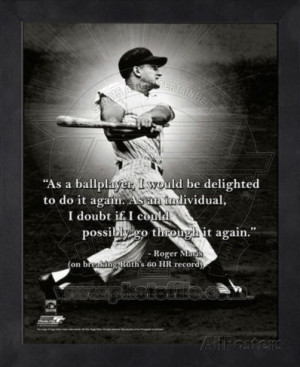 Roger Maris, New York Yankees, ProQuote Framed Memorabilia