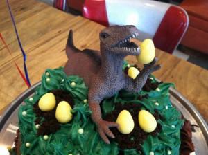 Dinosaur Birthday Cake Design Ideas