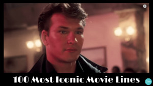 100 most memorable movie lines in cinema history [video]