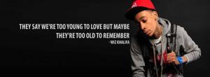 Wiz Khalifa Lyrics Facebook Cover 86
