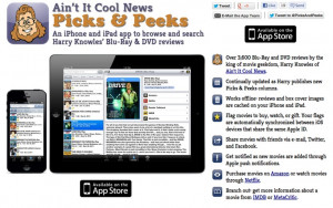 Ain't It Cool News: The best in movie, TV, DVD, and comic book news.
