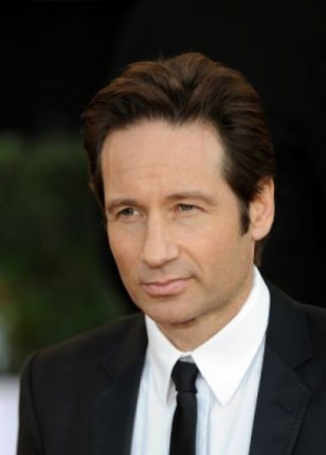 David Duchovny posed for Playgirl in