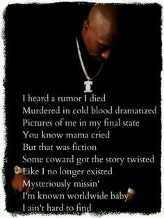 Tupac Me Against The World Lyrics #tupac picture and #quote
