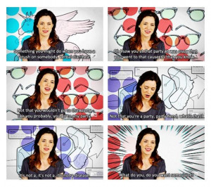 Alice Wetterlund seriously the funniest girl on girl code!!