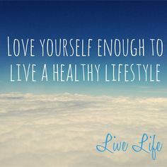 Live a healthy lifestyle. #healthy #inspiration #quote More