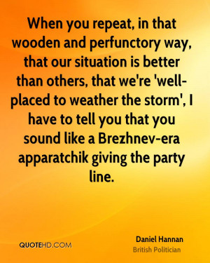 Daniel Hannan Party Quotes