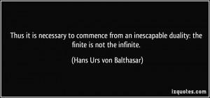 More Hans Urs von Balthasar Quotes