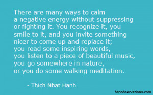 Quote About Negative Energy