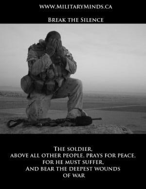 ... , raising awareness for PTSD, and kicking the stigma surrounding it