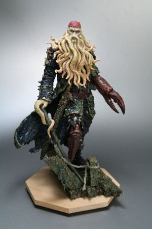 Pirates Of The Caribbean Davy Jones Artfx Statue