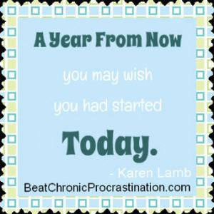 Procrastination Quotes - Beat Chronic Procrastination   Top Anti ...