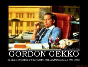 Gekko the Great Returns to Wall Street