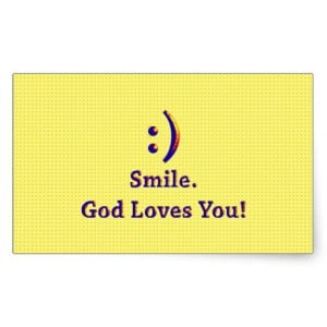 Smile God Loves You Wallpapers