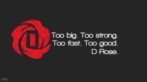 quotes derrick rose 1920x1080 wallpaper Athletes Derrick Rose HD Art ...