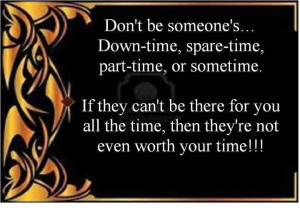 Not worth your time