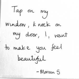 maroon 5 quote