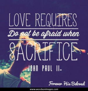 Pope john paul ii famous quotes 2