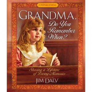 Grandma Memory Book Do You Remember When