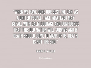 Quotes by Eamon De Valera
