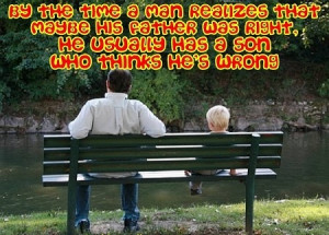 Father's Day-Deadbeat & Famous Dad Picture Quotes from Son