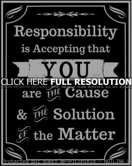 responsibility quotes, motivational, sayings, meaning