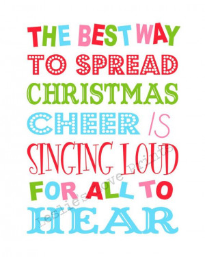Buddy the Elf Quote Printable (You Print) on Etsy, $3.50
