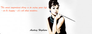 Audrey Hepburn quote by vanessutza