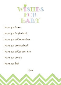 baby shower verses for after the baby has arrived visit