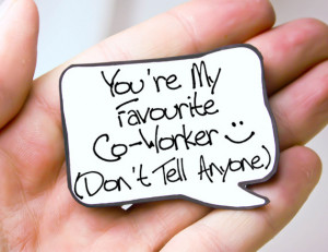co worker gift idea funny quote magnet