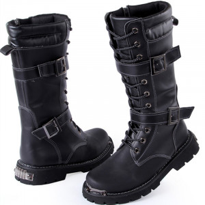 military style boots for men Reviews Online Shopping Reviews on